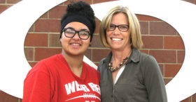 Peggy Bohrer and Suha