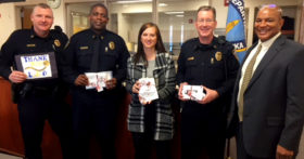 Saying 'Thank You' to Lincoln Police
